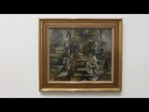 Georges Braque - Bottle and Fishes - The World Goes Pop - Tate Modern 2015 - Listaverk