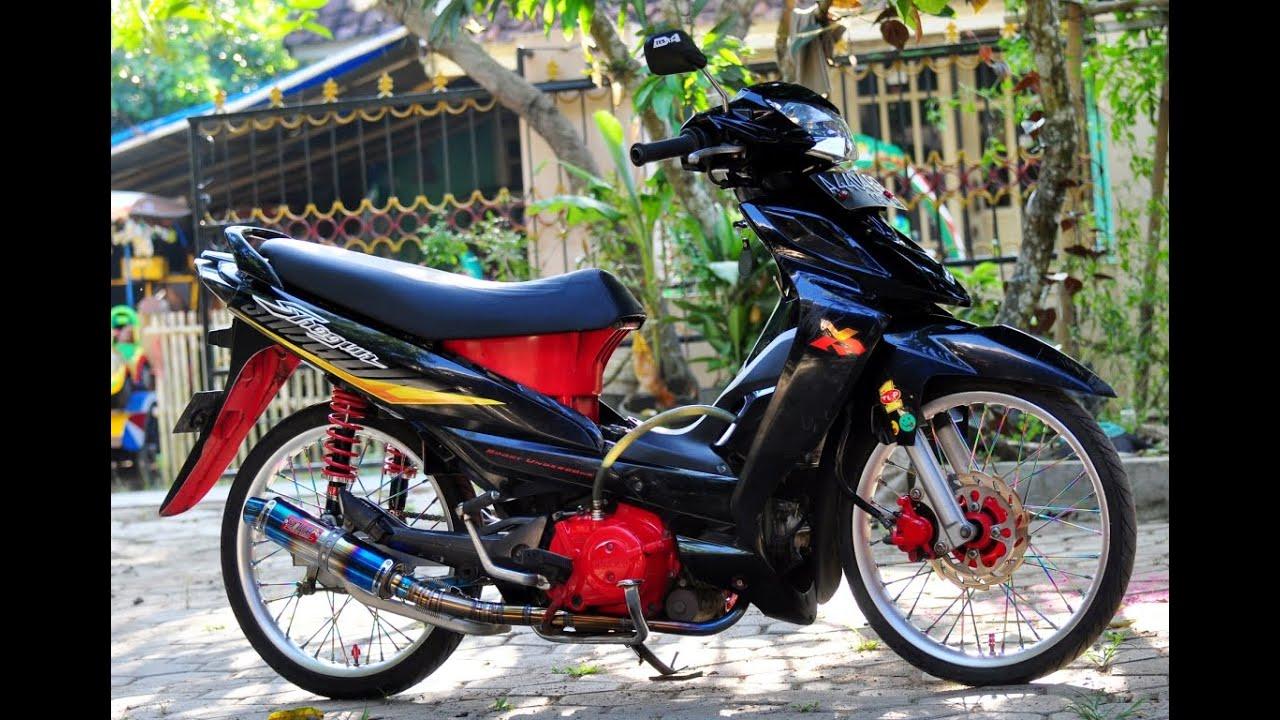 Gambar Modifikasi Motor Suzuki Axelo Wacana Modif Motor
