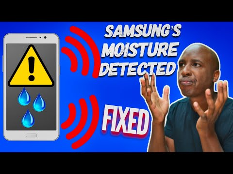 How to Remove Samsungs Moisture Detected Warning