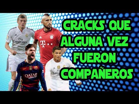 ¿Sabías que estos futbolistas fueron compañeros? | Footballers who played together