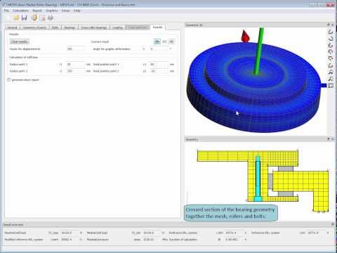 MESYS Axial Radial Roller Bearing Calculation - Overview And Basics