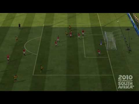 South Africa Free kick Fifa World Cup 2010 game
