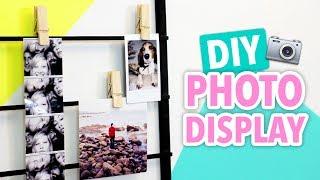 DIY Photo Display - HGTV Handmade