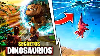 Event: Secrets Of Dinosaurs Appearing In the New Zone Fortnite Battle Royale
