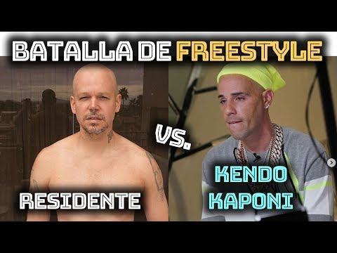 RESIDENTE Vs. KENDO KAPONI | BATALLA DE FREESTYLE 2020!