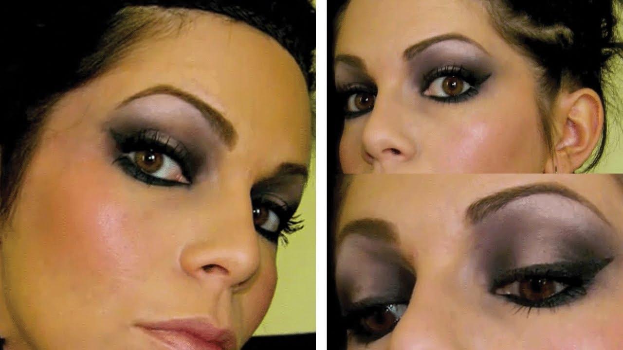tutoriel maquillage des yeux marrons youtube. Black Bedroom Furniture Sets. Home Design Ideas