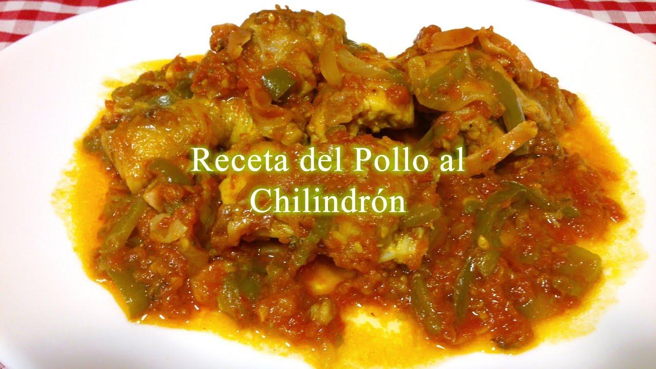 Receta De Pollo Al Chilindrón O Pollo Con Verduras
