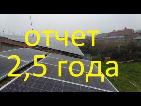 Солнечная электростанция 16кВт. Окупаемость. 2,5 года работы.