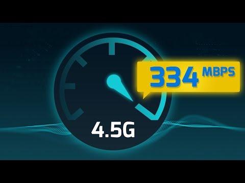 4.5G Hızını Test Ettik! (334 Mbps Gördük)