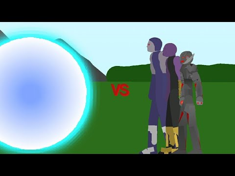 SCP 3812 Vs Thanos Ultron And Darkseid [Stick Nodes] Animation