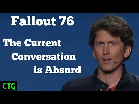 Fallout 76... Dismantling the Latest Arguments