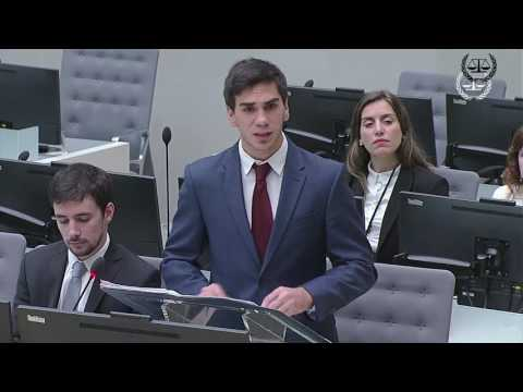 ICC Moot Court Competition 2017 - Spanish edition, 2 June 20