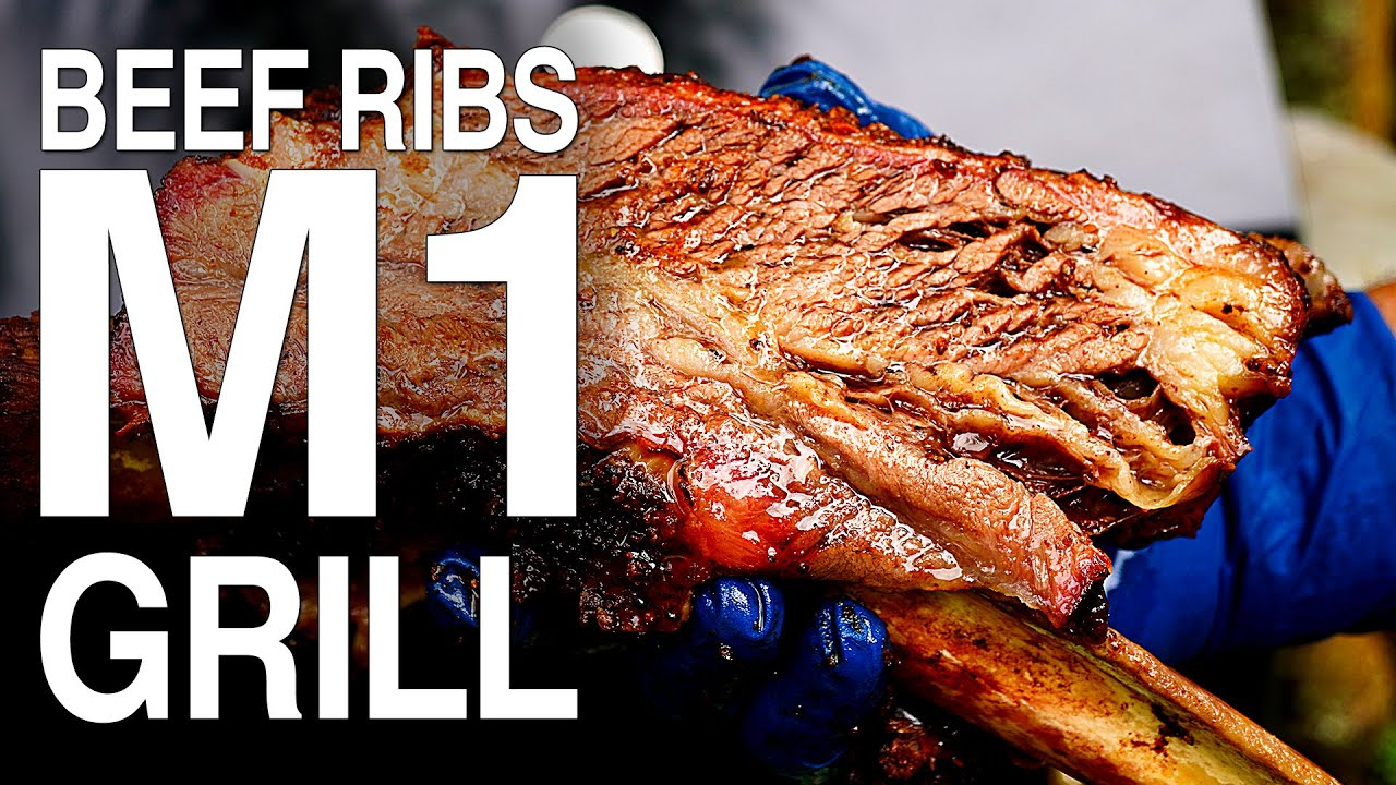 How To Smoke The Best BBQ Beef Ribs | Beef Ribs Recipe in an M1 Smoker by FOGO Charcoal