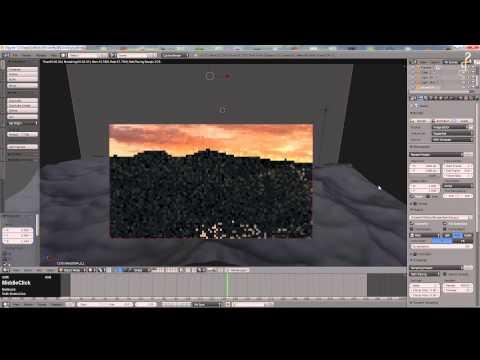 Blender 2.73 Tutorial - Using the Ocean Simulator