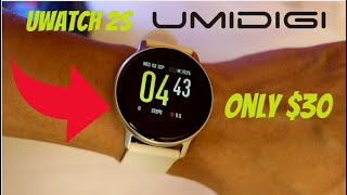 UMIDIGI Uwatch 2S (Unboxing and first Impressions)