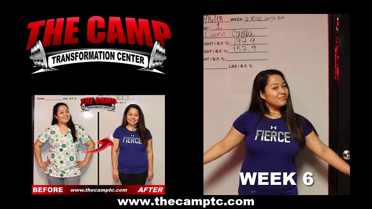 Stockton Weight Loss Fitness 6 Week Challenge Results Laurin C