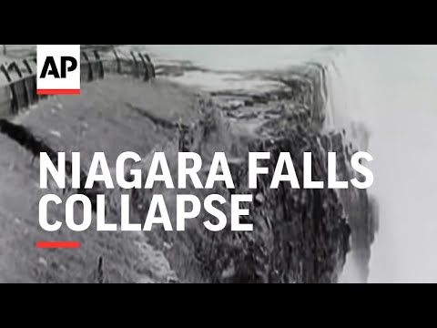 Niagara Falls Collapse - 1954