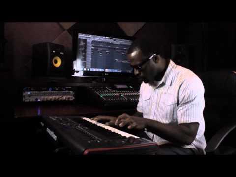 J.Font In the Studio on the Keys