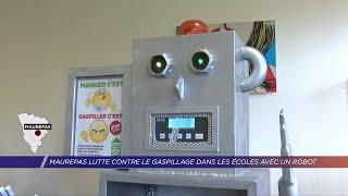 Yvelines | Maurepas lutte contre le gaspillage dans les écoles avec un robot