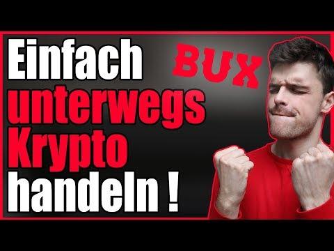 Einfach Unterwegs Kryptowährungen Handeln? Trading App Bux Im Test