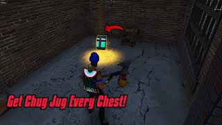 Get CHUG JUG in every chest glitch in Fortnite! Is it real or fake?