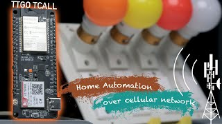 GSM/GPRS Home Automation using Blynk   TTGO TCall board   ESP32 Projects