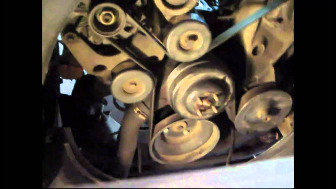 water pump replacement on 1994 chevy g10  YouTube