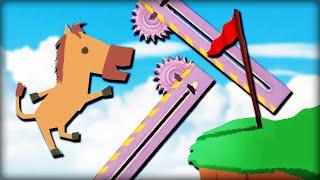 MACH DAS LEVEL DOCH NOCH SCHWERER ... !!! - Ultimate Chicken Horse   DannyJesden