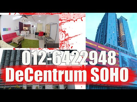 De Centrum City SOHO corner unit near Uniten, IUKL
