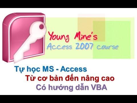 Học access 2007 bài 14: Giải bài tập query học Access 2010