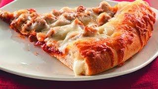 ¿Como hacer PIZZA CON ORILLA DE QUESO y PIZZA CON DEDITOS DE QUESO? Receta de pizza fácil
