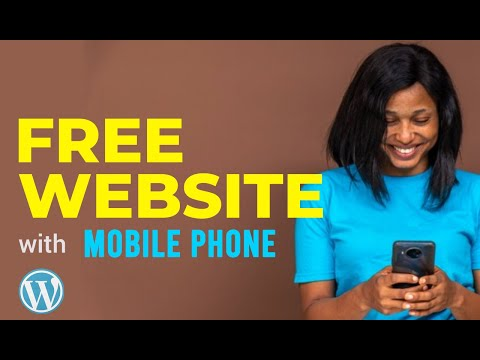 Download HOW TO CREATE FREE WEBSITE WITH MOBLE PHONE (FREE DOMAIN AND FREE HOSTING)