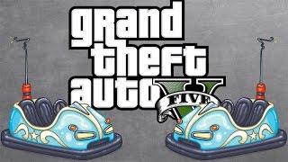 Cheating Little F**kers!! - GTA V Online Bumper Cars Rage