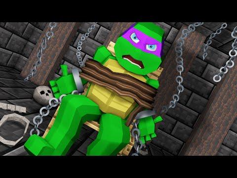 Minecraft | TMNT MOVIE - Donatello is Captured & Tortured! (Minecraft Roleplay) #2