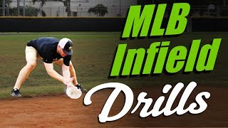 "MLB INFIELD DRILLS  (""Hands Routine"" by Matt Antonelli)"
