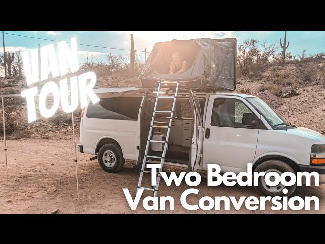 Chevy Express Van Tour with a Roof Top Tent |
