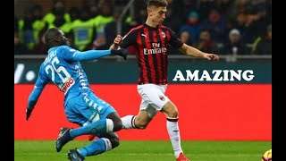 Krzysztof Piątek vs Napoli (AC Milan vs Napoli) - HD