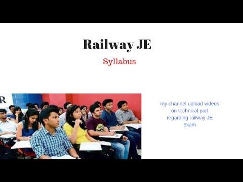 railway-je-exam-syllabus-for-technical-part-cbt2