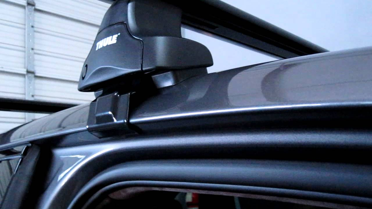 2012 Porche Cayanne With Thule Roof Rack By Rack Outfitters