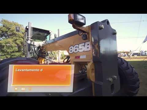 Motoniveladora CASE 865B na Agrishow 2018