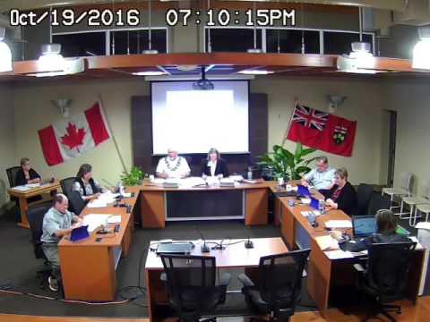Council Meeting - Oct 19, 2016 - Part 4 (audio missing from source file)
