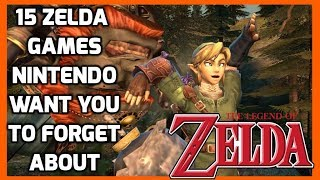 The Legend Of Zelda Games Nintendo Want You To Forget About! - Top Hat Gaming Man