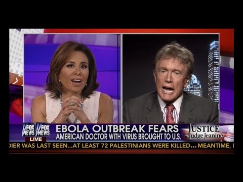 Judge Jeanine Asks The Tough Questions About Ebola!