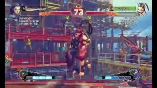 Ultra Street Fighter IV battle: DaFallenPit (Rose) vs HT Ishoken (Ibuki)