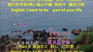 時の流れに身をまかせ Toki no nagare ni mi o makase 我只在乎你 茫渺情 Karaoke カラオケ