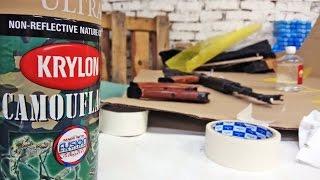 Покраска оружия   Krylon   DIY