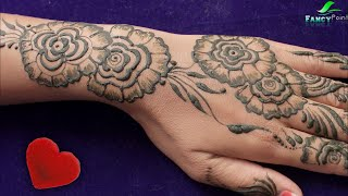 Its Not Easy Mehandi Design You Can Try It.... | Latest Stylish Mehndi Design