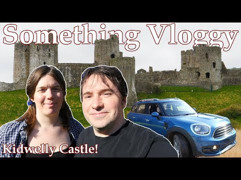 KIDWELLY CASTLE! A Mini Road Trip to a Smashing Welsh Ruin. Video