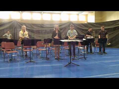 """Concrete High School jazz band """"Sing Sing Sing"""" 0561"""