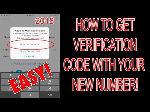 How To Get Verification Code To Your New Phone Number (Can't Get Apple ID Verification Code) FIX